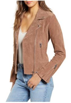 BLANKNYC suede jacket